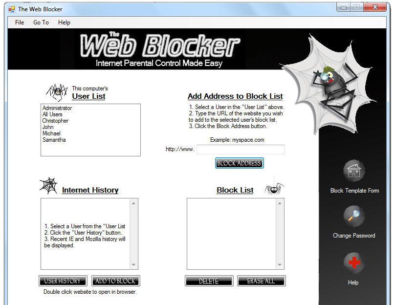 100% Free Website Blocker, Simple to use, Block Any Website